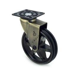 Retro design castor wheel GOLD'STYL 100P