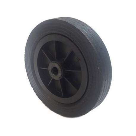 INDUSTRIAL USAGE RUBBER WHEEL 250 MM 20 MM BORE S2000PS