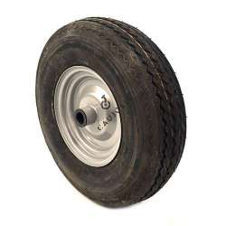 WHEEL 4-PLY REINFORCED TYRE S2600 400 MM DIAMETER 25 MM BORE WITH ROLLER BEARING