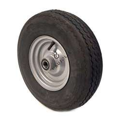 WHEEL 4-PLY REINFORCED TYRE S2600 400 MM 25 MM BORE WITH BALL BEARING