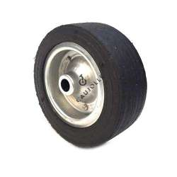 WIDE RUBBER WHEEL 250 MM DIAMETER 25 MM BORE 2750ST