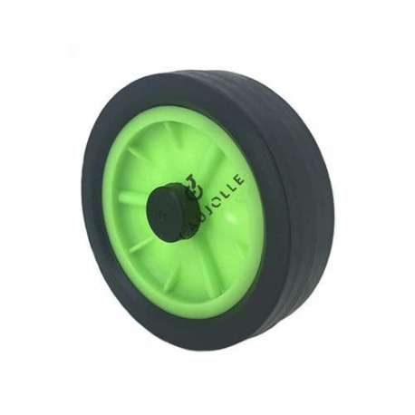 GREEN DECKCHAIR WHEEL DIAMETER 170 MM 12 MM BORE