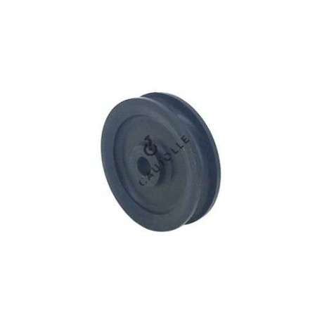 SINGLE PULLEY 60 MM DIAMETER 8 MM BORE