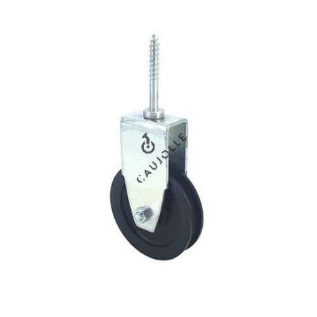 LAG SCREW PULLEY 60 MM DIAMETER