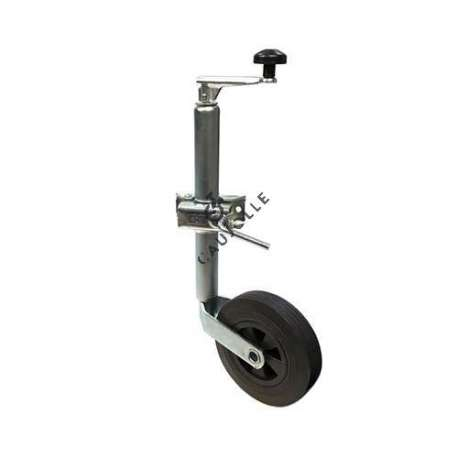 TELESCOPIC JOCKEY WHEEL 200 MM DIAMETER