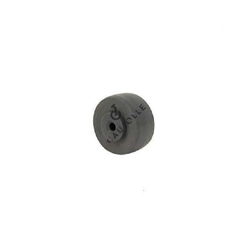 GREY POLYPROPYLENE WHEEL 30 MM DIAMETER 4 MM BORE S2400