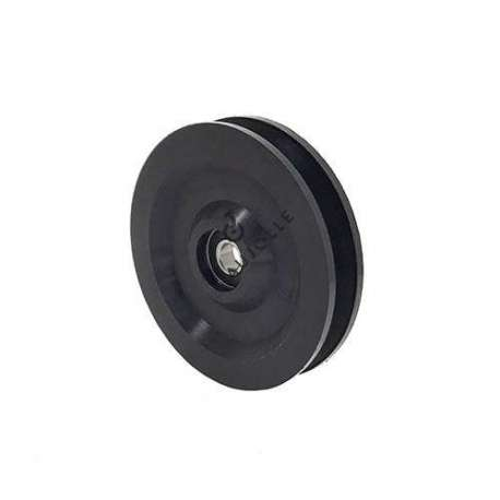 SINGLE PULLEY FOR EXERCISE MACHINE 100 MM DIAMETER 10 MM BORE
