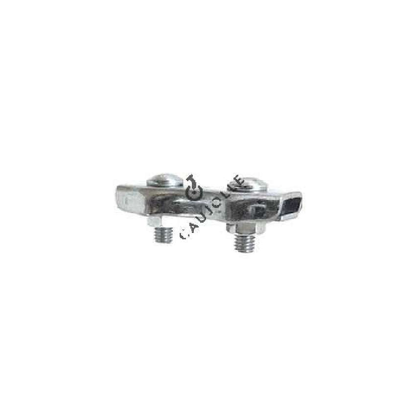 FLAT CABLE LOCK WITH 2 BOLTS FOR 4 MM DIAMETER CABLE