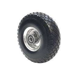 PUNCTURE-PROOF TROLLEY WHEEL 25 MM BORE 260 MM DIAMETER