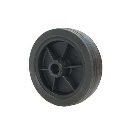 PVC WHEEL FOR GOODS HANDLING DIAMETER 160 MM MAX LOAD 100 KG SMOOTH 20 MM BORE - S2000PVC160