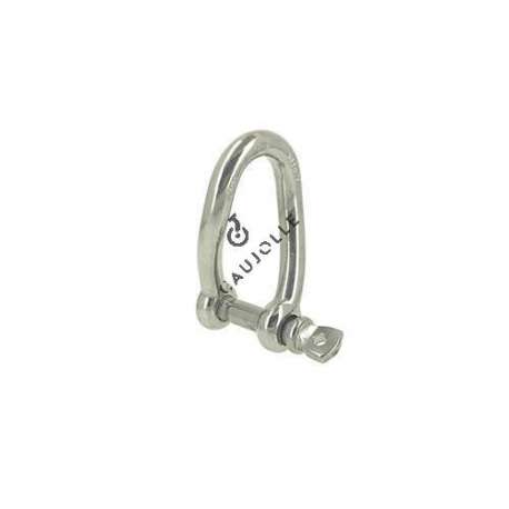 MANILLE INOX TORSE CHARGE 700 KG
