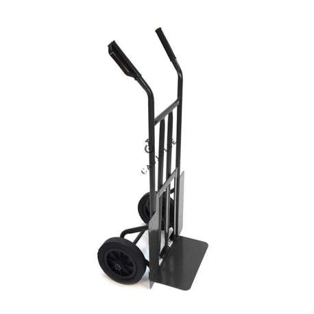 FOLDING TOE SACK TRUCK WITH 2 SOLID WHEELS